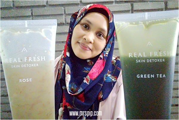 Review Althea Real Fresh Skin Detoxer Rose & Green Tea