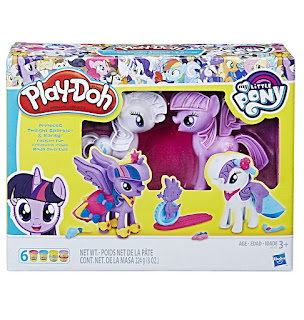 MLP Twilight Sparkle and Rarity Fashion Fun Play-Doh Set