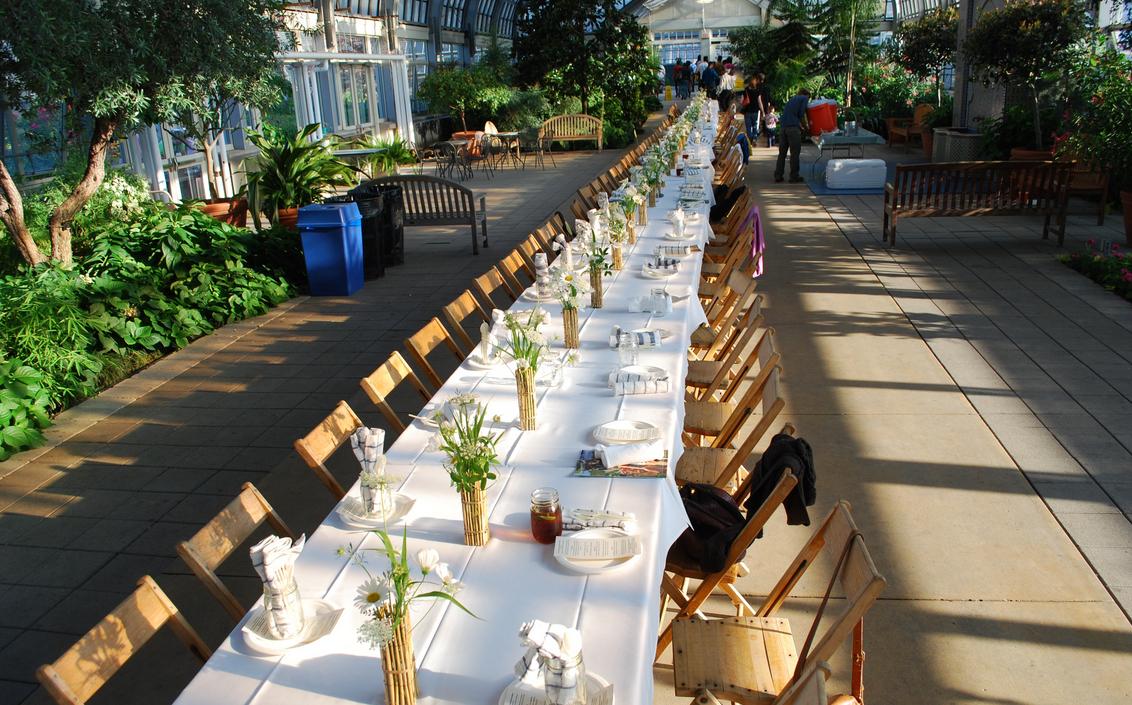 Garfield Park Conservatory Wedding Venues