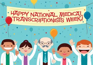 Medical Transcriptionist Week Gifts, Ideas, Games, Activities 2015