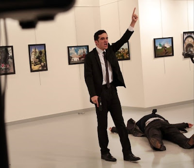 Watch Live Video on How Russian Ambassador was Killed