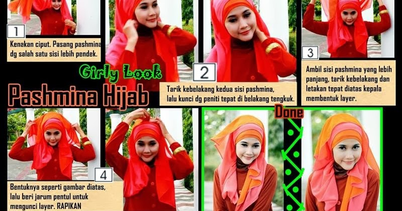 Pintar Pakai Jilbab: Tutorial Hijab Pashmina Simple  Edisi Lebaran ala Didowardah  Bagian 19