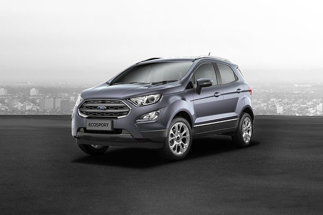 2017 Ford EcoSport Smoke grey pics hd