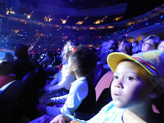Our #OutofThisWorld night with Ringling Bros and Barnum and Bailey Circus   Amaze
