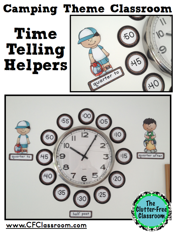 Classroom Decoration Printables Free : Camping themed classrooms clutter free classroom