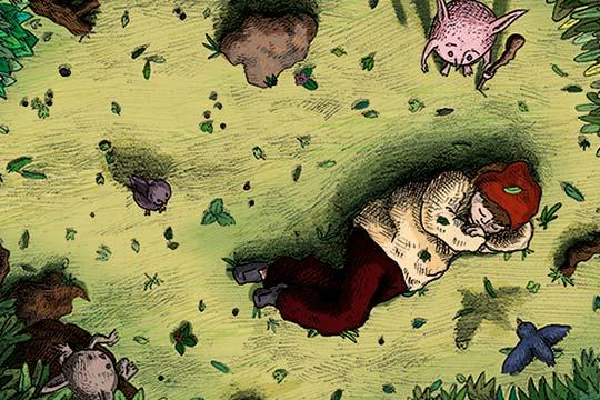 Ilustración, Il lamento di Federic de Laura Valentina Alvarez