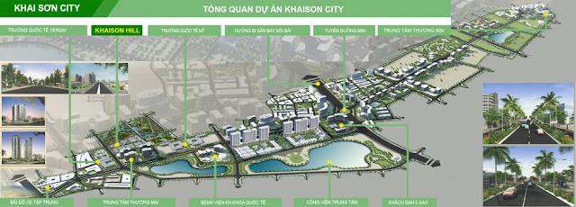 Quy mô dự án Khai Sơn City