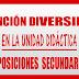 ATENCIÓN A LA DIVERSIDAD UNIDAD DIDÁCTICA OPOSICIONES SECUNDARIA