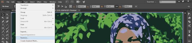 masing di vblog panduan adobe suite kali ini kita akan membahas seputar vektor bagi yang  Cara Merubah Gambar Kaprikornus Vektor ( Tracking ) 1 Menit Dengan Adobe Illustrator