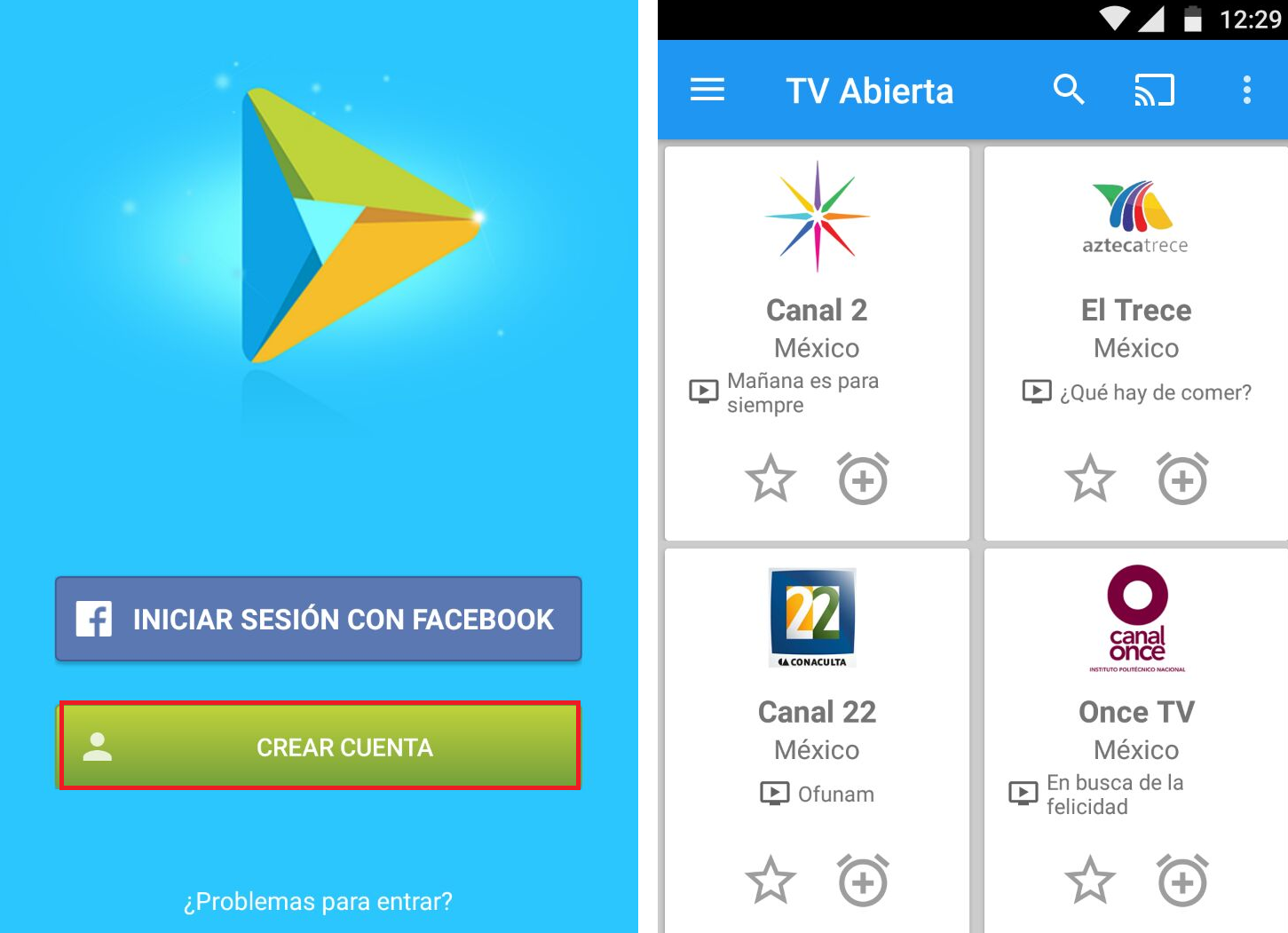 app android gratis tv
