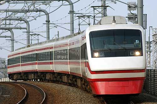 Tobu Isesaki Line.