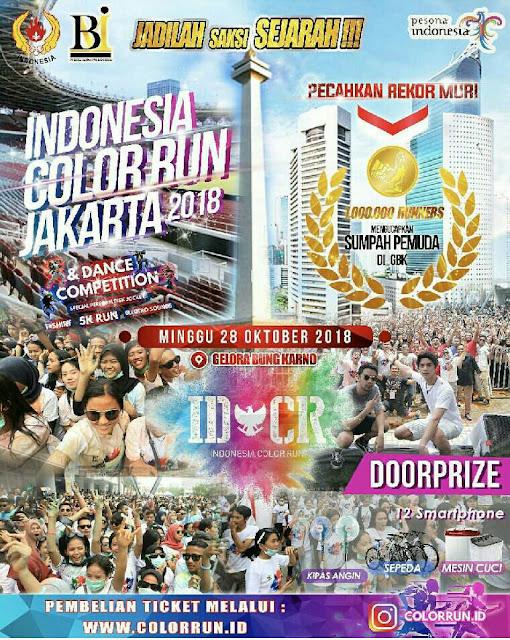 Color Run Indonesia - Jakarta 2018