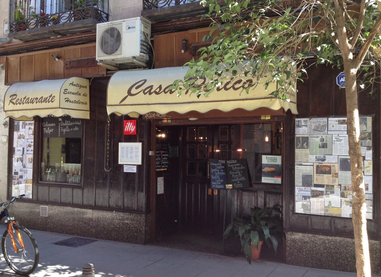 Aspicio1927 locales de madrid con historia casa perico - Casa perico madrid ...