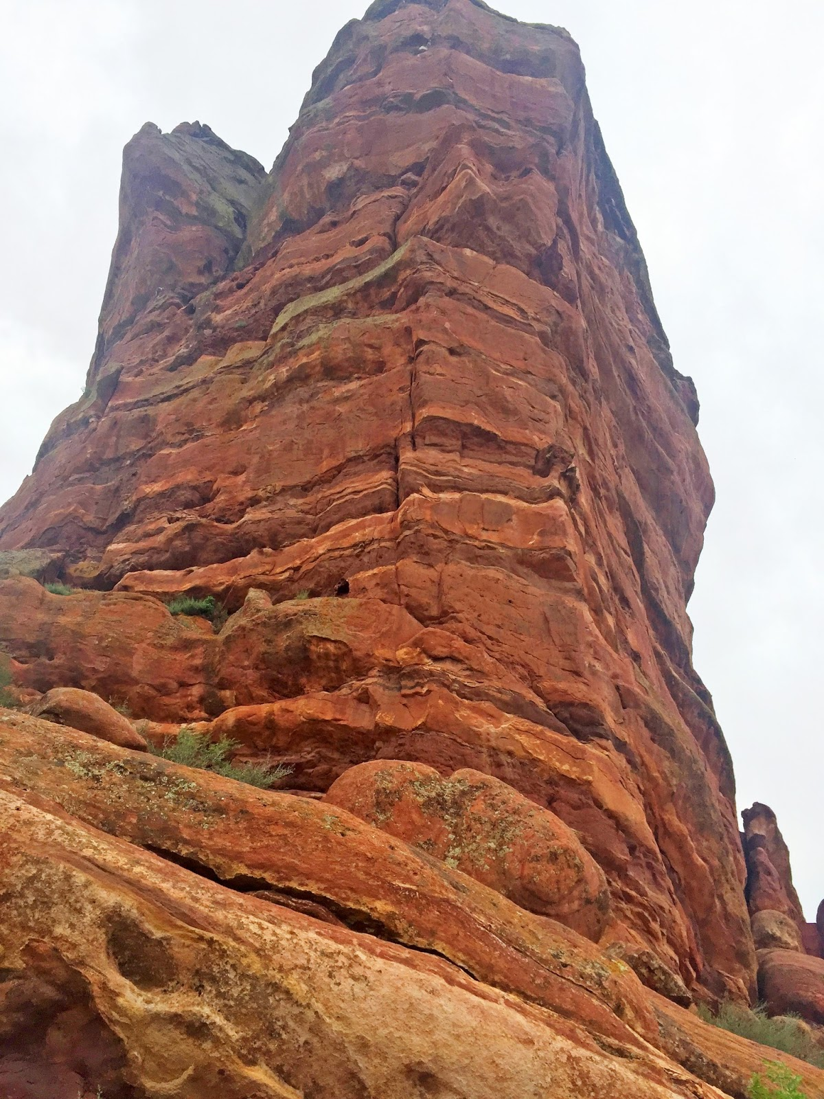 Breathtaking views at Red Rocks, Colorado. More photos on the blog!