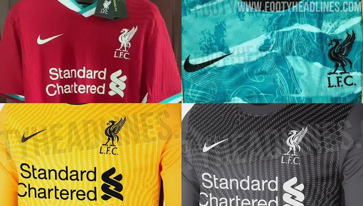 Nike Liverpool 20 21 Home Away Keeper Kits Third Design Leaked Footy Headlines