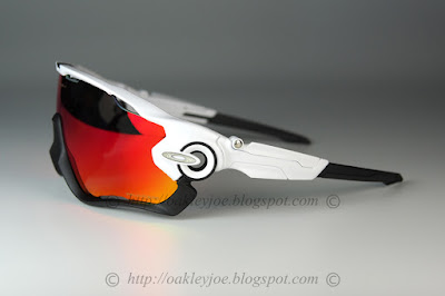 0272e13228a Custom Jawbreaker polished white + halo icon + oo red iridium polarized   310 lens pre coated with Oakley hydrophobic nano solution complete set  with vault