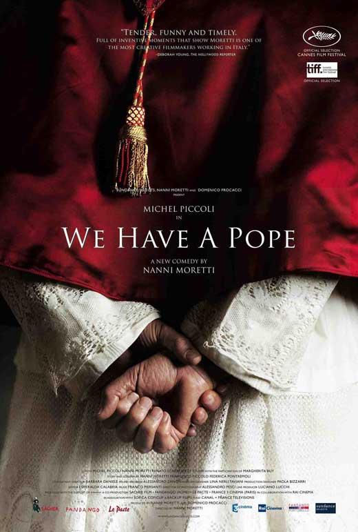 habemus papam mamy papieża recenzja filmu plakat jerzy stuhr