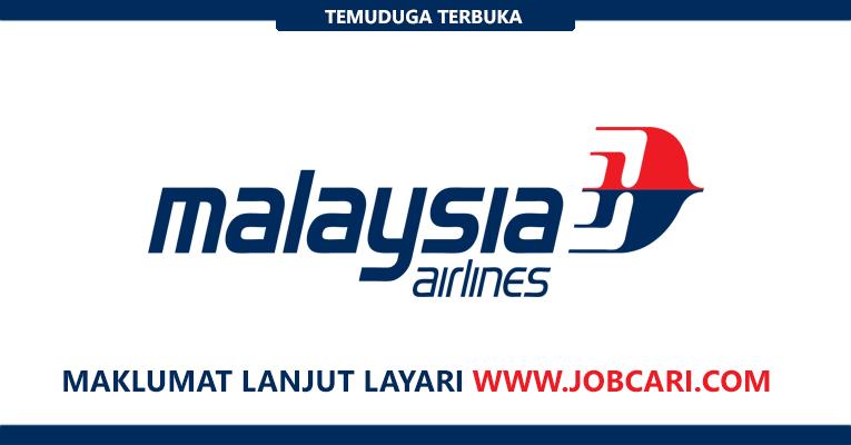 Temuduga Terbuka di Malaysia Airlines 2018