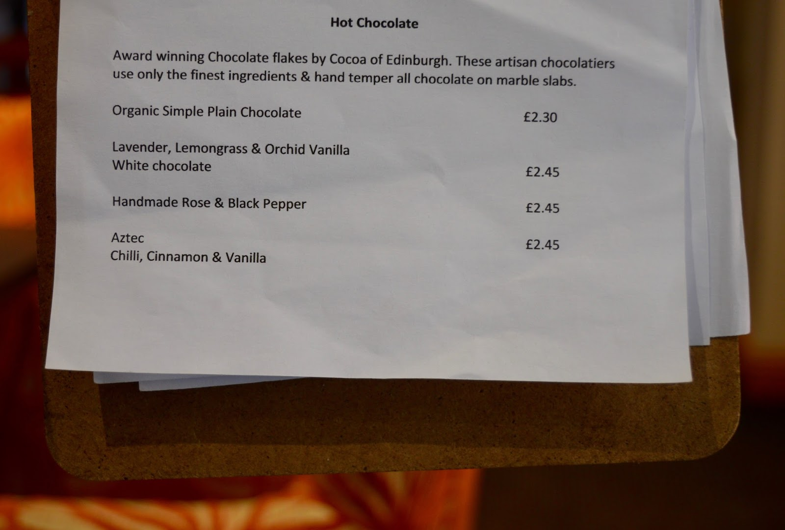 Great Days Out with Northern  | Our Day Trip to Carlisle by Train - coffee genius hot chocolate menu