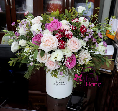 Buying flowers online in Hanoi