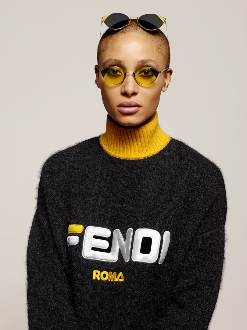 Fendi Fall Winter 2018 Campaign by Karl Lagerfeld