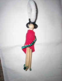 Clothespin Doll 1