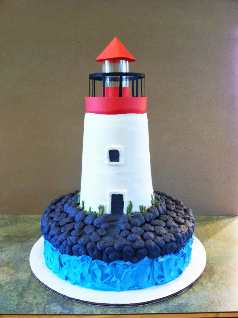 Party Cakes Lighthouse Cake