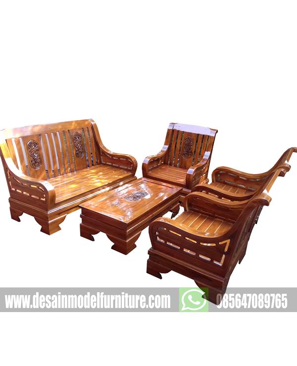 Set kursi tamu kayu jati jepara paling murah