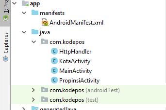 Mobile Computing - Aplikasi Android Kode POS