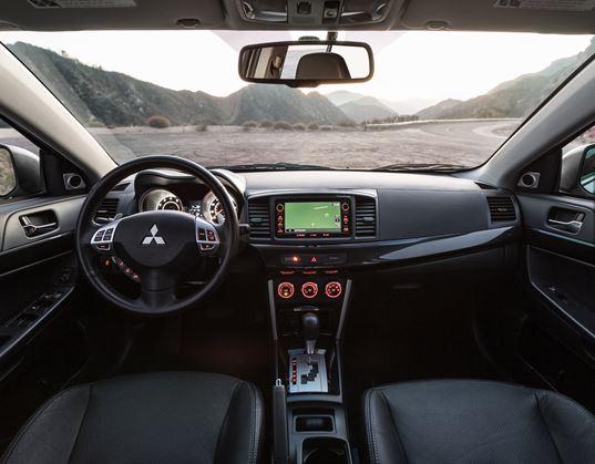 2017 Mitsubishi Lancer AWD Interior