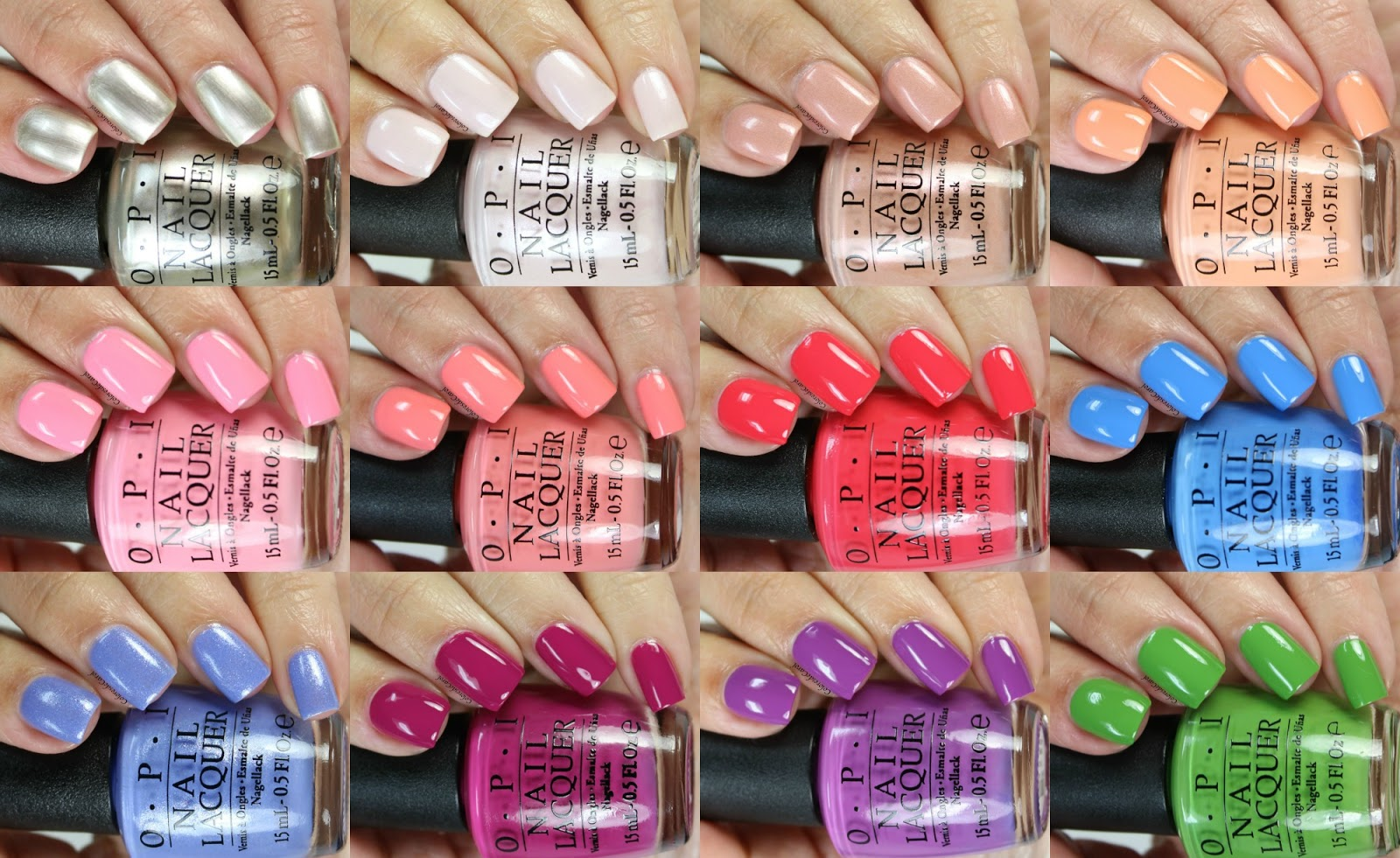 Colores de Carol: OPI New Orleans, Swatches and Review