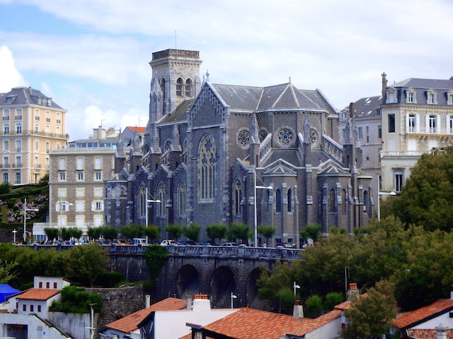 Sainte Eugenie church, Biarritz