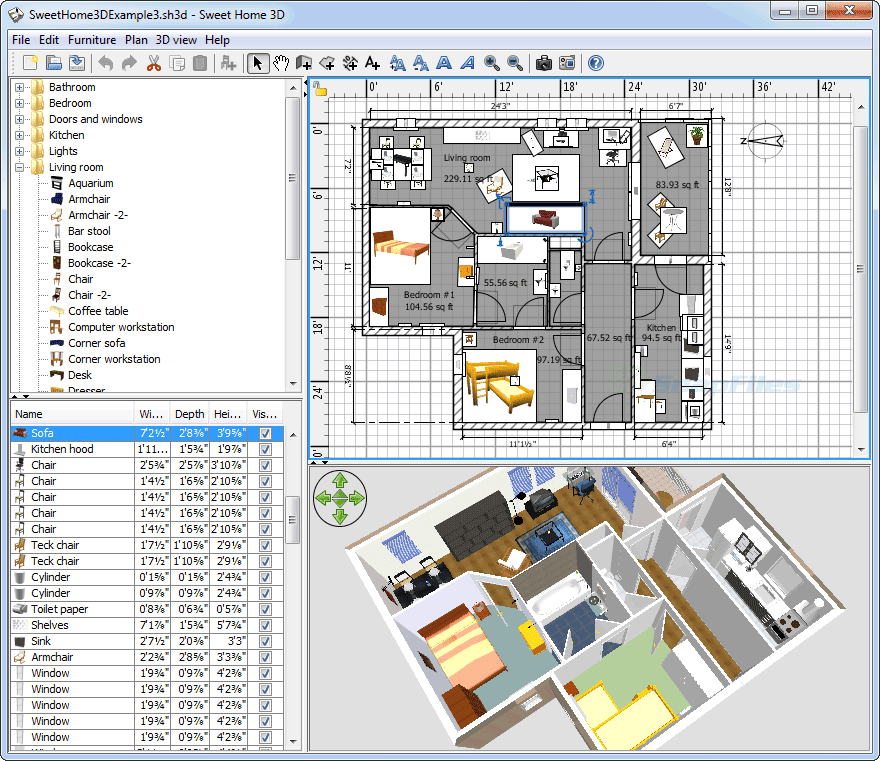 Interior designing software free and easy to use toptrix - Home interior designing software ...