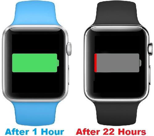 Apple watch battery life draining