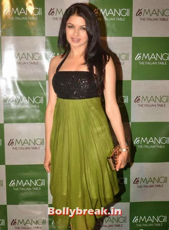 Bhagyashree, Page 3 Celebs at 'Le Mangii' Launch Party