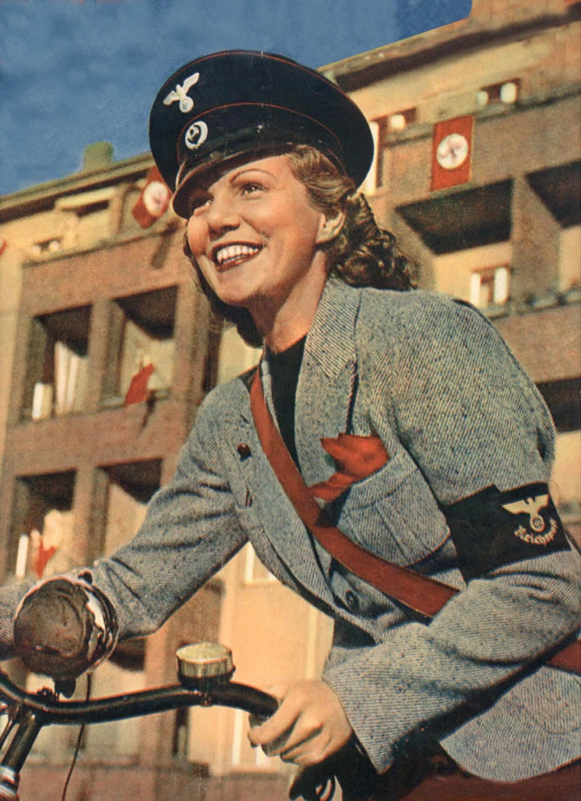 A Reich post office girl.