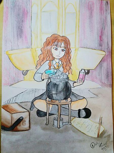 Hermione Ganger, Harry Potter, Nerd, Nerd Girl, Bruxos, Bruxa, Hogwarts, Polisuco, dia do orgulho nerd