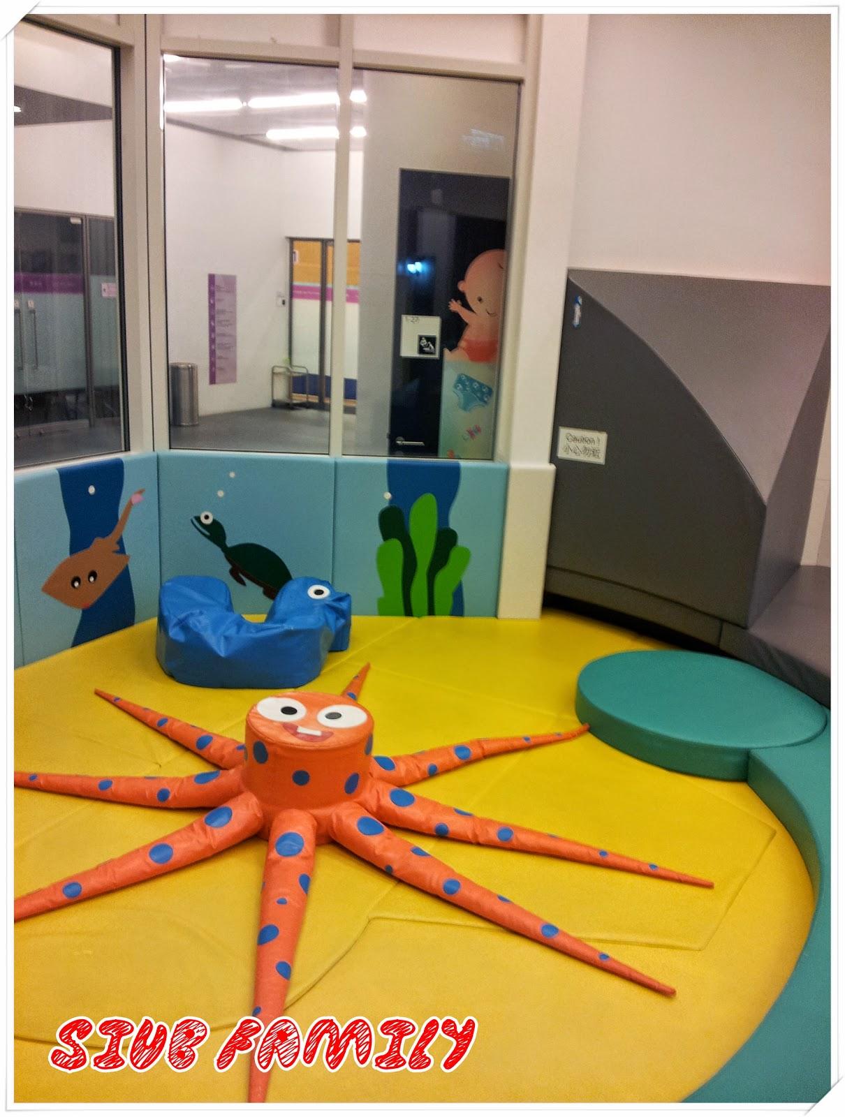 我們的快樂時光: 坑口體育館 兒童遊戲室