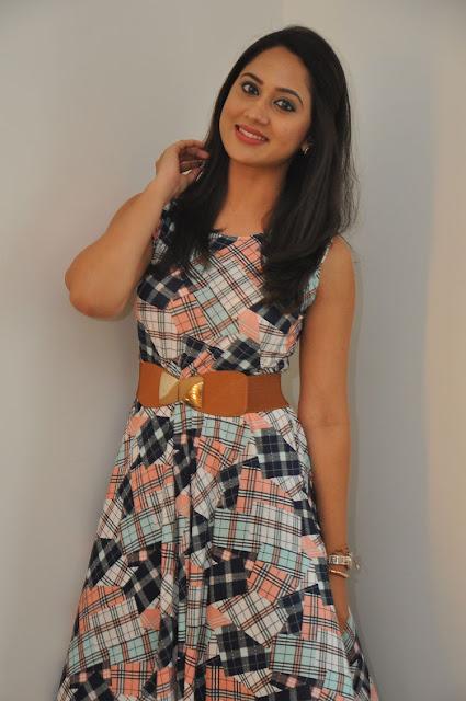 Actress Miya George At Yaman Telugu Audio launch