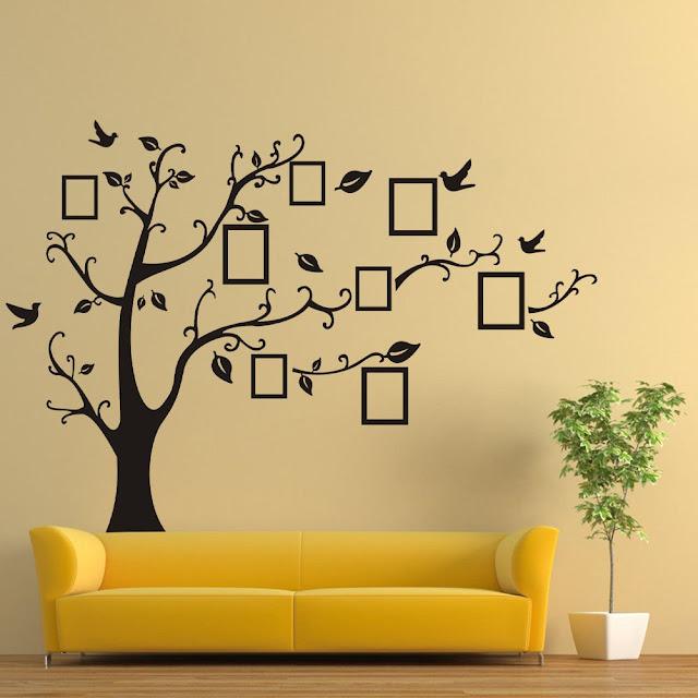 Wall Sticker Fashion DIY Photo Large Tree Bird