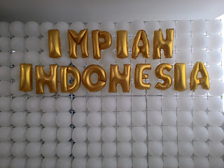 backdroop balon impian indoesia