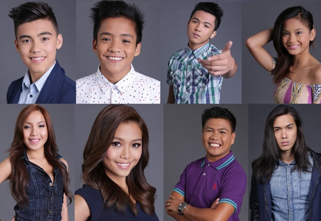 Teen Big 4 Bailey, Franco, Jimboy, at Ylona, and Adult Big 4 Dawn, Miho, Roger, and Tommy