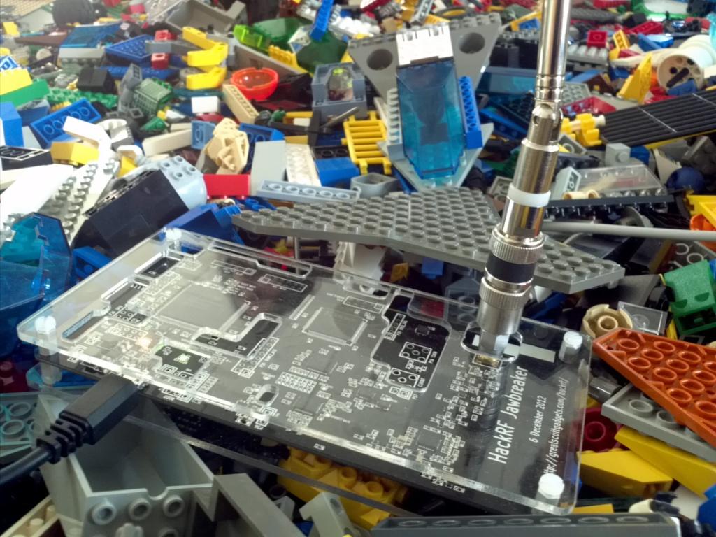 mossmann's blog: HackRF LEGO Car