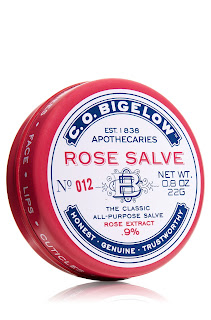 c o bigelow rose salve