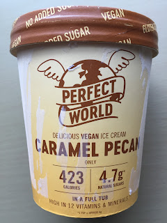 Perfect World Pecan Caramel Ice Cream