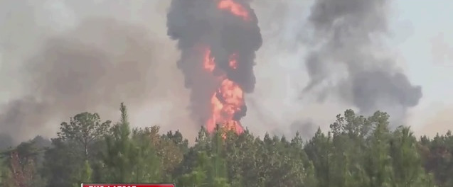 Colonial Pipeline Explosion and Fire
