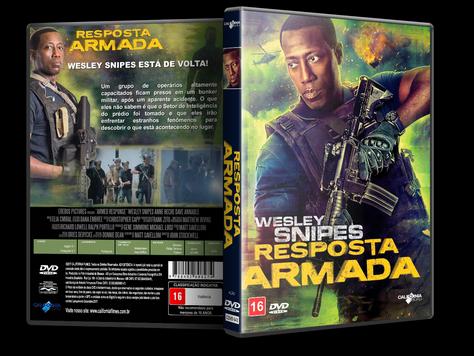 Capa DVD Resposta Armada [Exclusiva]