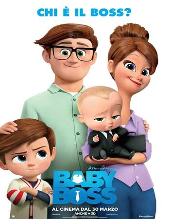 The Boss Baby 2017 English HEVC 450MB Web-DL 720p ESubs