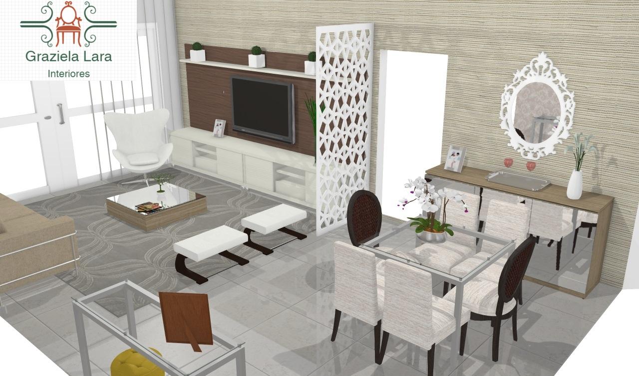 Construindo Minha Casa Clean Consultoria De Decora O Salas  -> Lustres Para Salas Pequenas