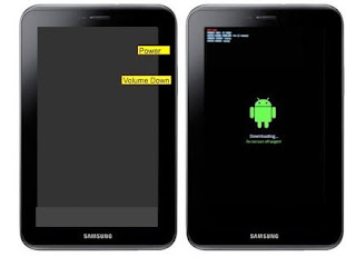 Cara Flash Samsung Galaxy Tab 2 GT-P3100 Via Odin